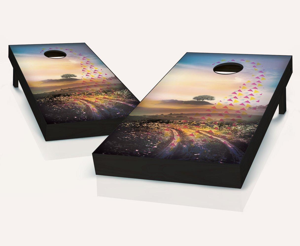 Tailgating Pros Dream Weaver Cornhole Boards withのセット8 Cornhole Bags B07BWK25VV