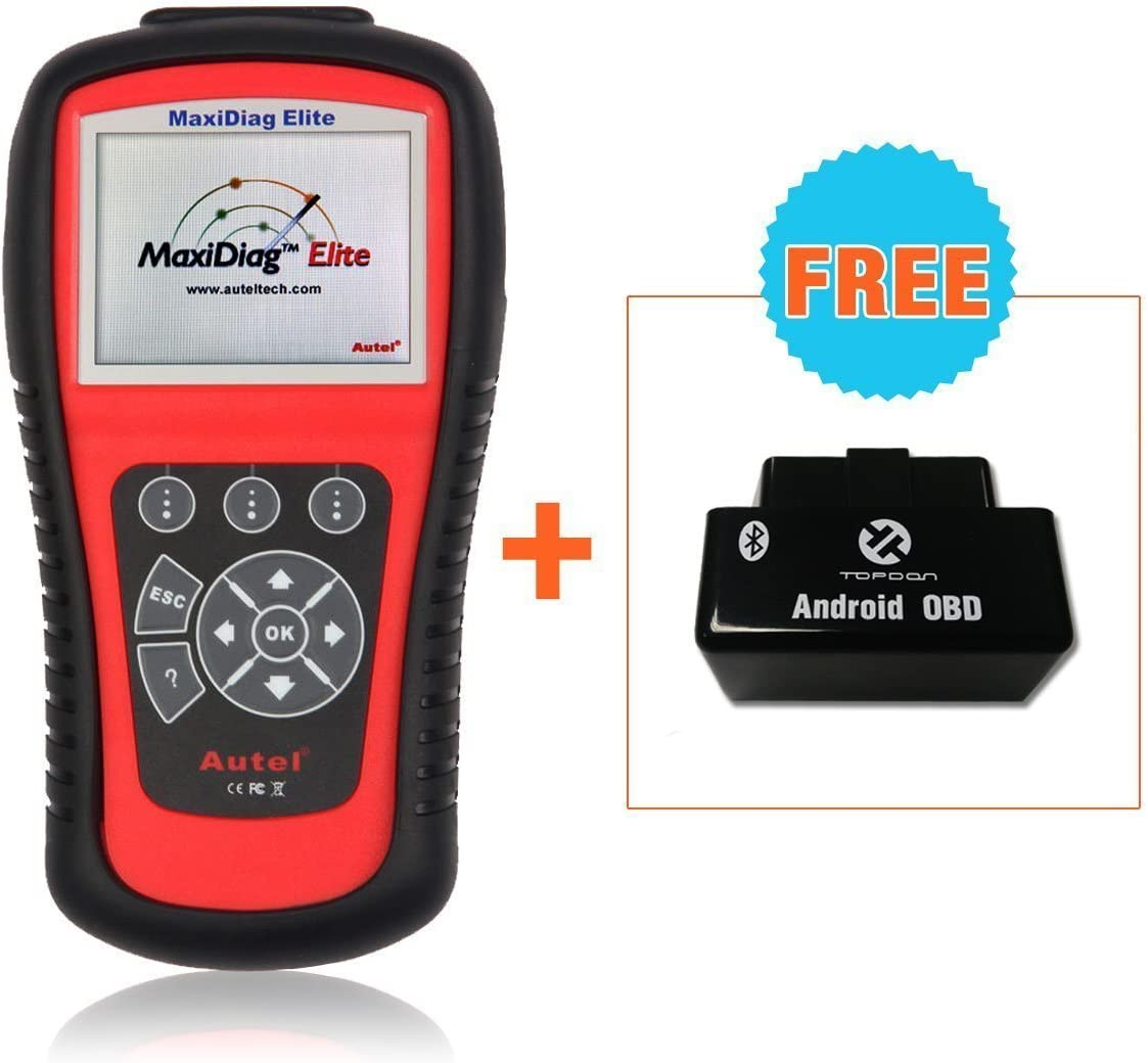 MD701+MD702+MD703+MD704 4 system AUTOOL AUTEL MaxiDiag Elite MD802 4 System Diagnostic Tool Engine Transmission ABS Airbag EPB OIL Service Reset