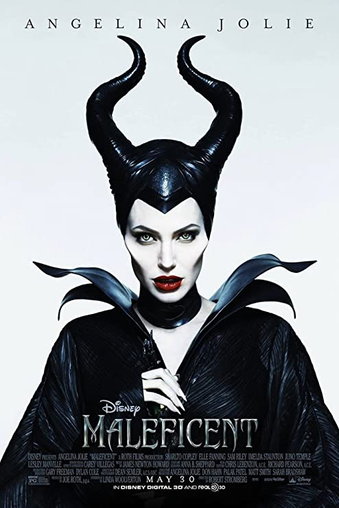 Amazon.com: Maleficent (2014): Movie Poster (Thick Poster) Original Size  24x36 Inch - Angelina Jolie, Elle Fanning, Sharlto Copley: Posters & Prints