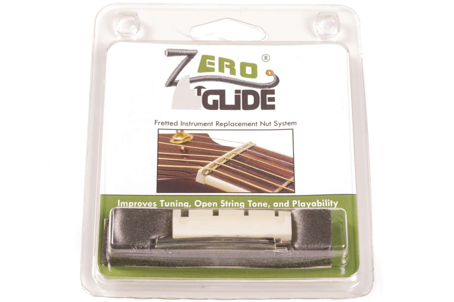 Zero Glide ZS-18 Acoustic Guitar Nut for Bass Guitar