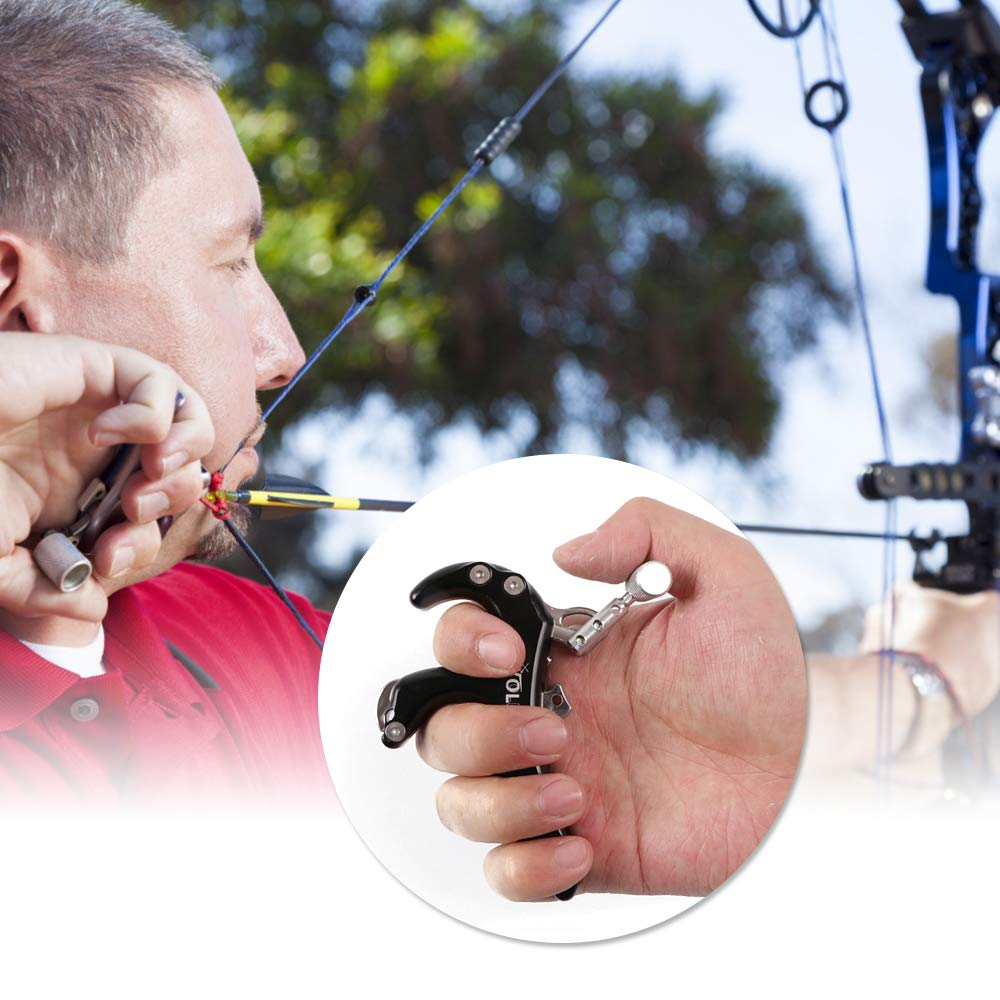 Caliper Bow Release Grip for Compound Bow Archery Release Aid