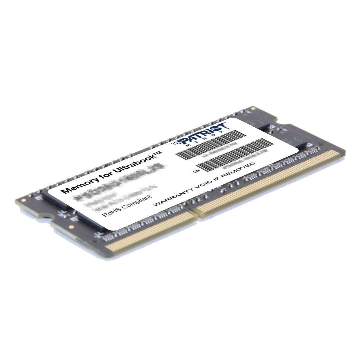 Memoria Ram 8gb Patriot 1.35v Ddr3 1600mhz Pc3-12800 Cl11 Sodimm Psd38g1600l2s