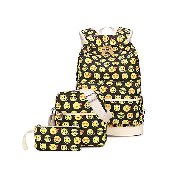 dee7b5240d Emoji Backpack Set (3 pieces) - Emoji Backpacks