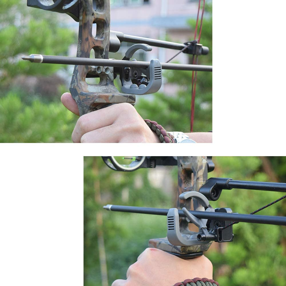 NIKA ARCHERY Arrow Rest Down Draft Cable Driven Full Containment Drop Away High Speed Landing Equipment for Compound Bow Right Hand