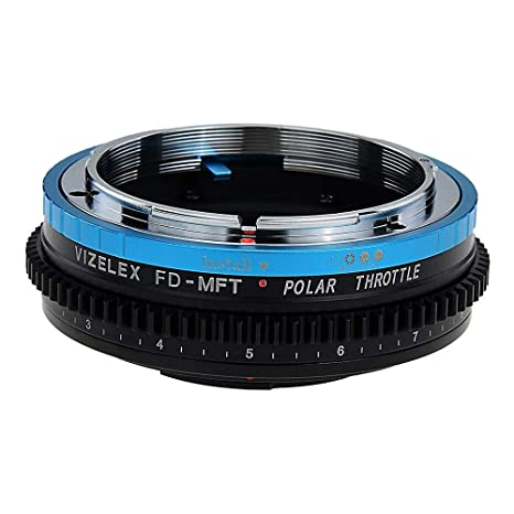 Fotodiox Vizelex Polar - Adaptador para Objetivos Canon FD y FL ...