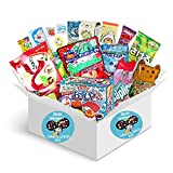 Premium Selection Candy and Snacks Imported from Japan Dagashi Snack Box (18 individually wrapped snacks) Assortment of Japanese Candy, Snacks, DIY Kracie Popin Cookin and More! | Gift Care Package |
