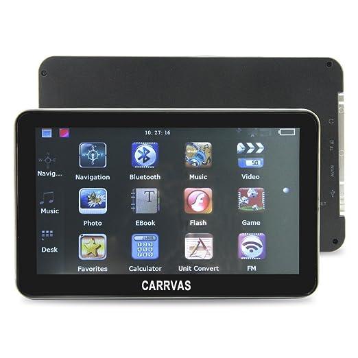 CARRVAS GK4000 - GPS para coches de 4.3