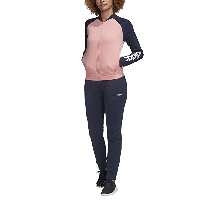 adidas WTS New Co Mark Tracksuit, Mujer: Amazon.es: Deportes y ...