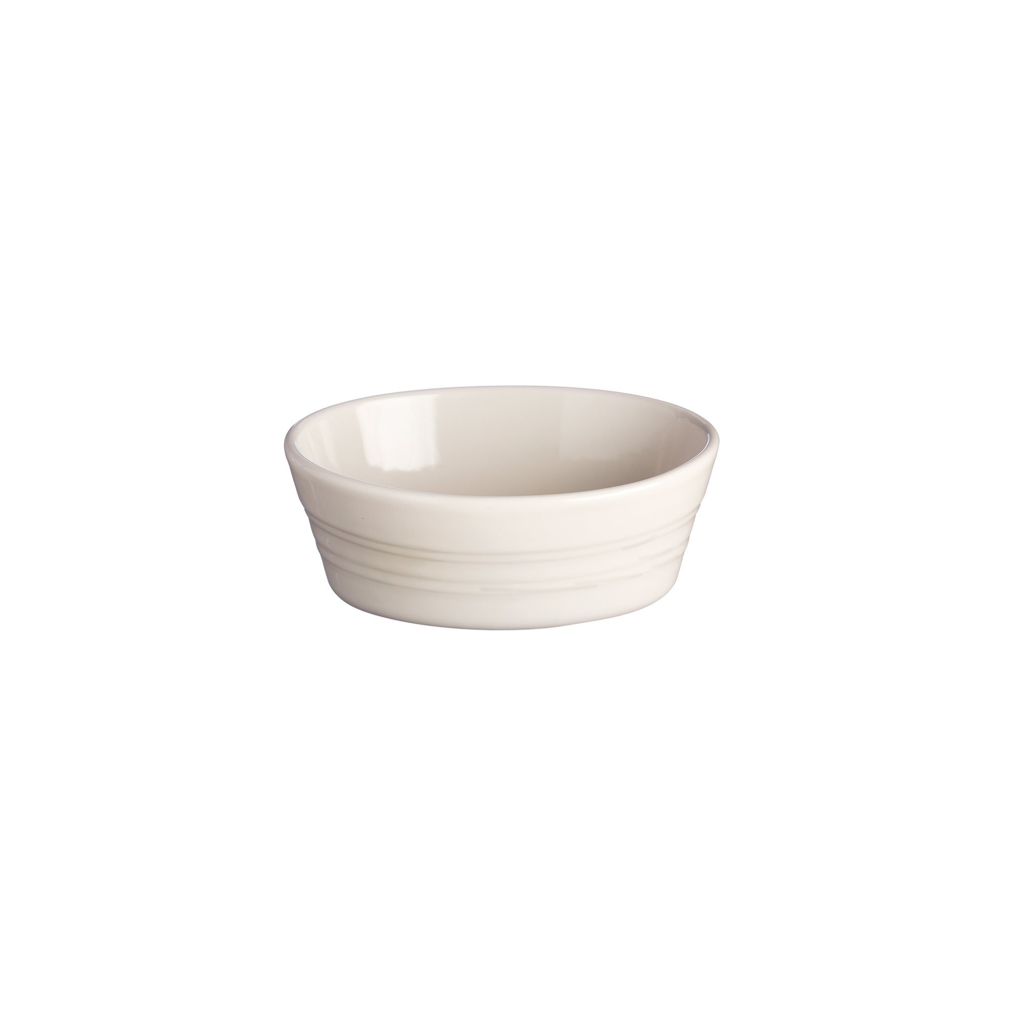 Mason Cash Original Stoneware Oval Pie Dish, 7-Inches by 4-1/2-Inches by 3-Inches, Cream