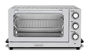 Cuisinart TOB-60NFR Toaster Oven Broiler with Convection (Certified Refurbished), Silver
