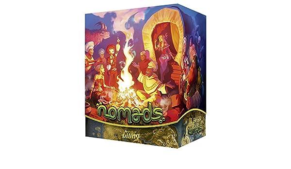 Asmodee lud0004 nomaden, Juego: Amazon.es: Juguetes y juegos