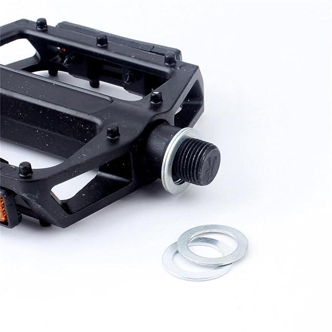 4Pcs Bicycle pedal gasket mountain bike folding car pedal gasket accessories