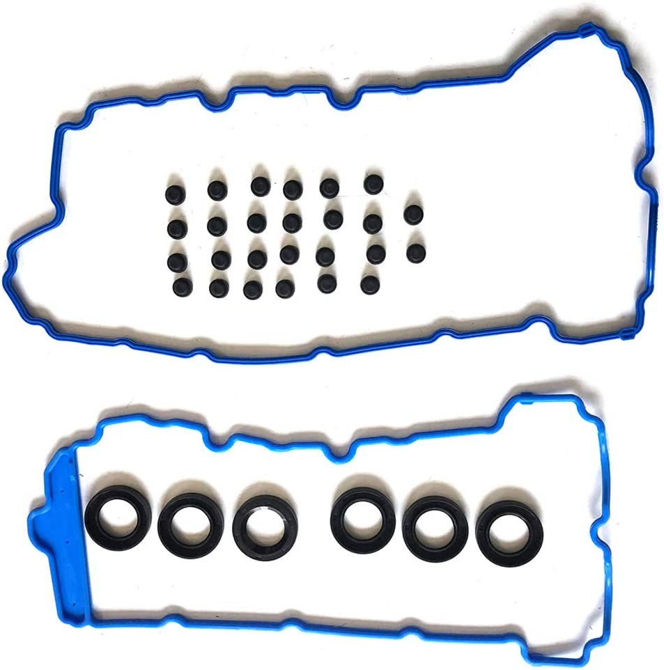 SCITOO Valve Cover Gasket Set Replacement for GMC Acadia 4-Door Sport Utility 3.6L SLT