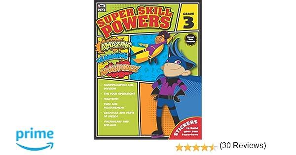 Super Skill Powers, Grade 3: Thinking Kids, Carson-Dellosa ...