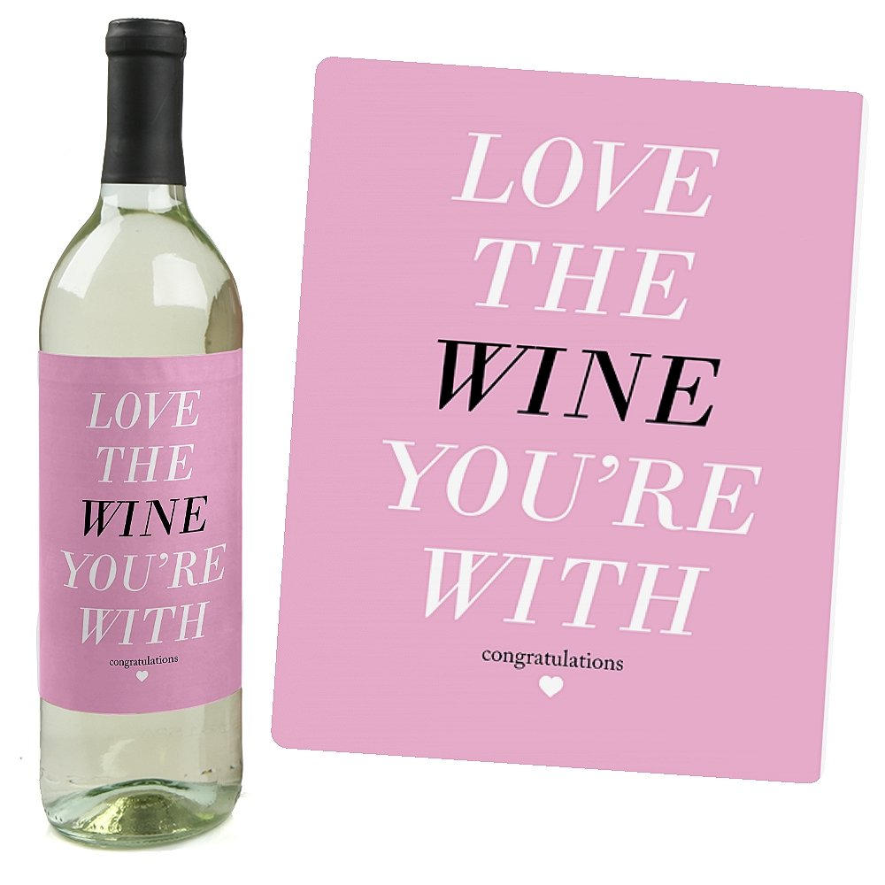 Amazon.com: OMG, You\'re Getting Married! - Wine Bottle Labels ...