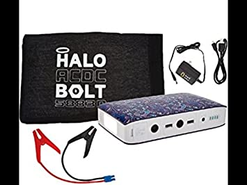 Halo perno portátil cargador y arrancador de batería de ...