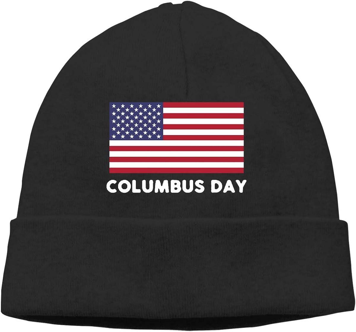 GDSG5/&4 Columbus Day Women and Men Helmet Liner Cycling Beanie Skull Cap