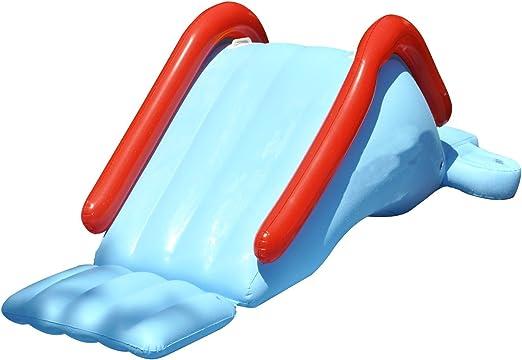 Deslizamiento de agua hinchable para piscina y piscina, divertido ...