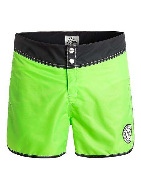 Eqybs03102 Fluor33Amazon Bañador Quiksilver Hombre Verde Para 29YEDWHI