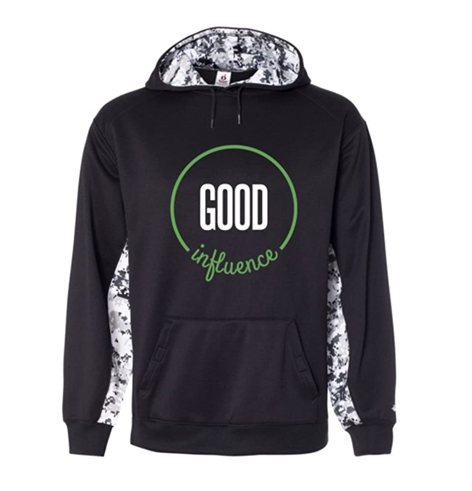 Good Influence Hoodie with Big Logo