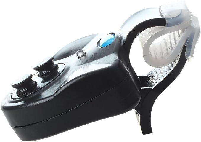 Angeln Bissanzeiger Bell-Anzeige-LED Wasserdicht Nachtangeln Batterien Schwa