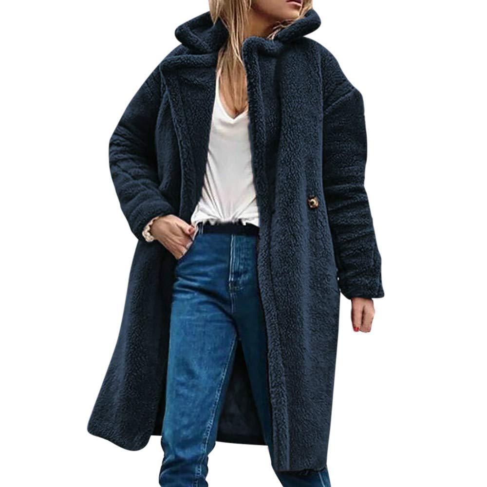 Amazon.com  Ulanda Womens Parka Jacket Winter Hooded Sherpa Coats Warm Fuzzy  Fleece Open Front Outwear Coat  Clothing c7199b817