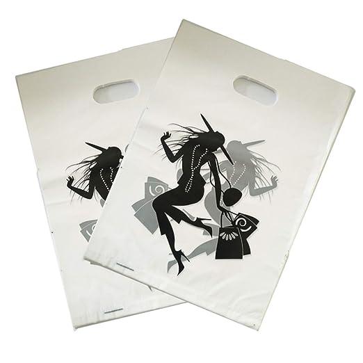 Amazon.com: BATOP Lady Design - Bolsas de plástico para ...