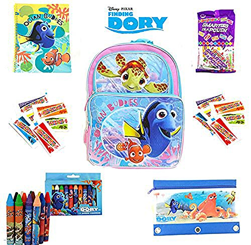 Finding Dory Back To School Back Pack Bundle