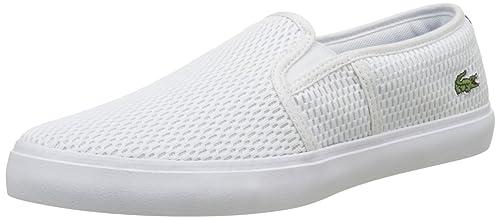 Lacoste Gazon 217 1, Alpargatas para Mujer: Amazon.es: Zapatos y complementos