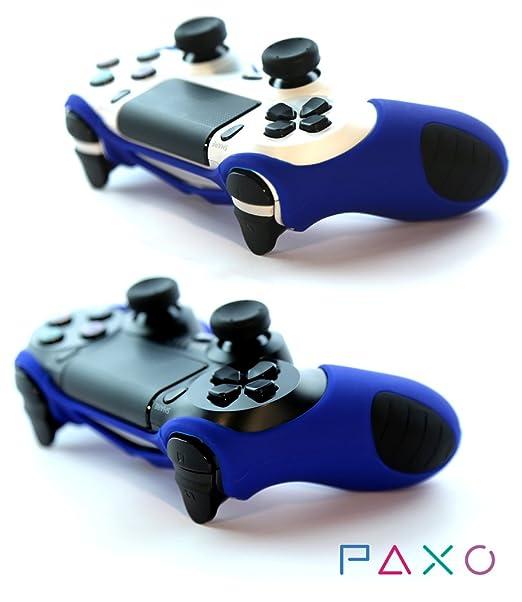29 opinioni per 2x PAXO Silicone Case Custodia Protettiva blu per PS4 + 4 Controller analogico