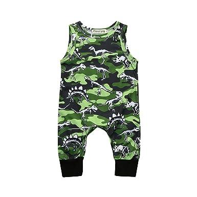 dc7f2533a295 Amazon.com  Toraway- Toddler Infant Romper Jumpsuit Summer Baby Boy ...