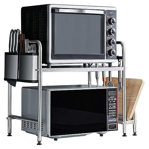 WWJHH-Microwave oven rack Horno De Microondas + Porta Cuchillos + ...