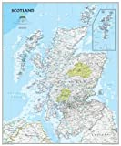 Scotland Classic, laminated Wall Maps Countries & Regions (Reference - Countries & Regions)