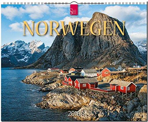 Norwegen 2016: Original Stürtz-Kalender - Großformat-Kalender 60 x 48 cm [Spiralbindung]