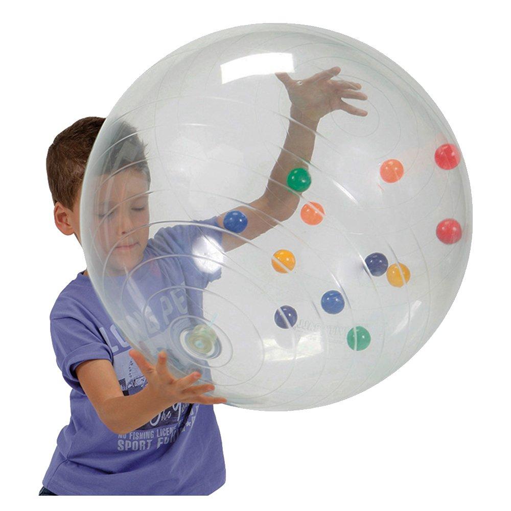 Ballon G/éant Gymnic 96.02 Activity Ball en Transparent