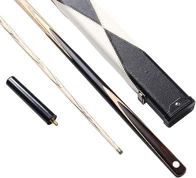 ZMg Taco De Billar De 57 Pulgadas,Hechas A Mano De 17-19Oz Ash wood Snooker cue,con 9.7mm Consejos Cue/Rod barrel / 145cm: Amazon.es: Bricolaje y herramientas