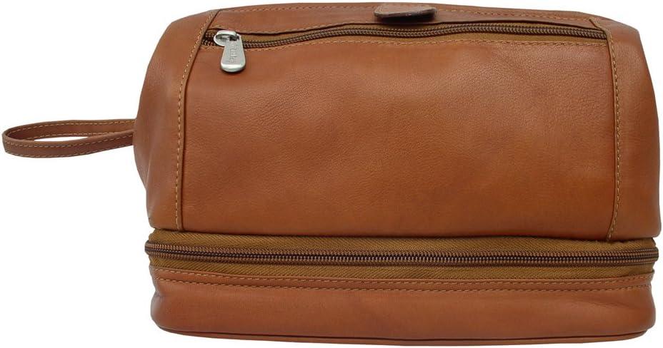 B002CL7D3C Piel Leather U Frame Utility Kit with Zip Bottom, Saddle, One Size 612IlezYfqL