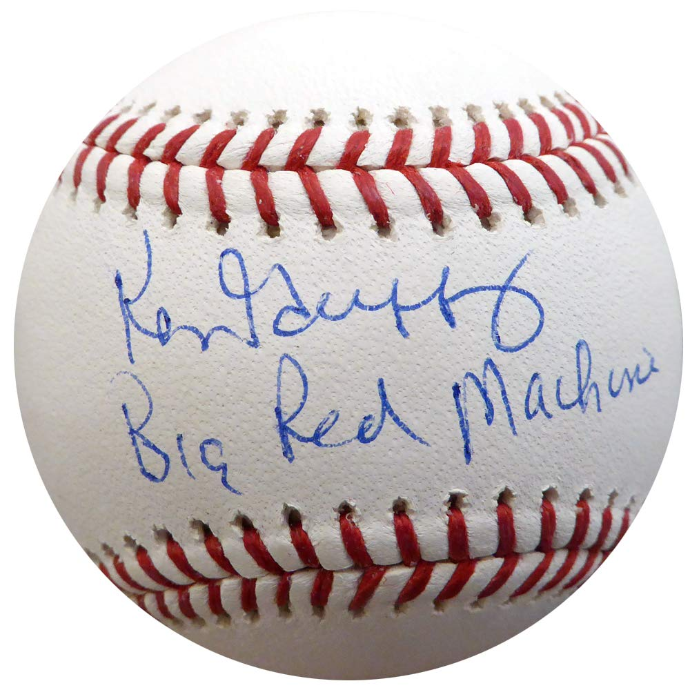 KEN GRIFFEY SR. AUTOGRAPHED OFFICIAL MLB BASEBALL CINCINNATI REDS'BIG RED MACHINE' TRISTAR HOLO STOCK #135399