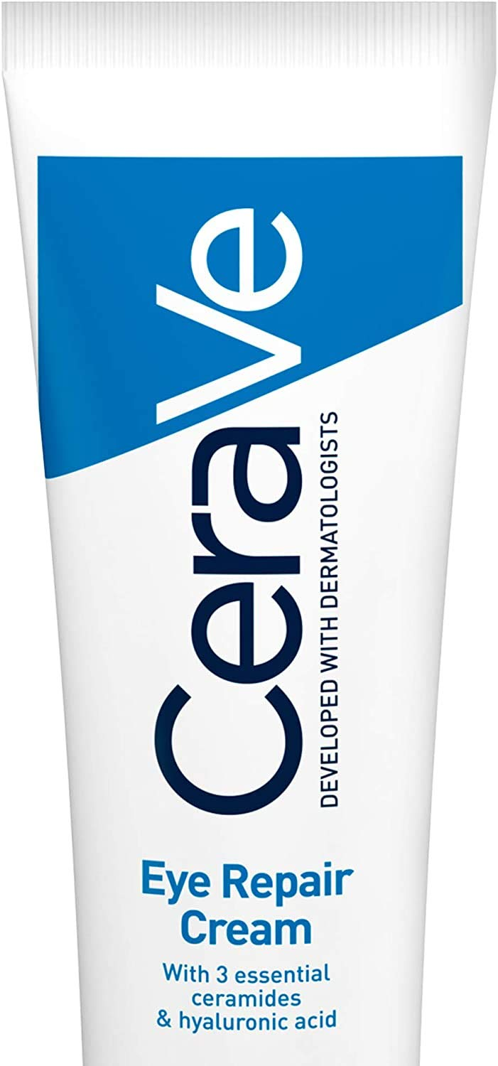 CeraVe Eye Repair Cream | 14 ml/0.5 oz | Eye Cream for Dark Circles & Puffiness