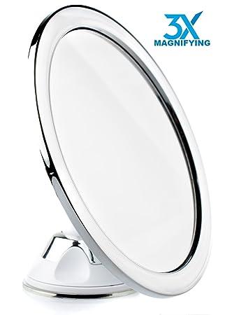 Amazon.com : Hampstead Best Fogless Shower Shaving Mirror For .