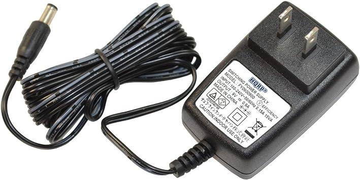 HQRP AC Power Adapter for Casio CTK-431 CTK-451 CTK-519 CTK-520L CTK-541