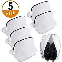Heqishun 5 Pcs Saco Lavadora para Zapatos, Multi-Protectora