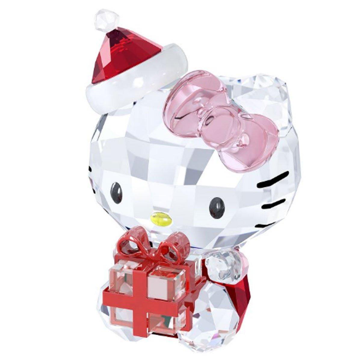 Swarovski 5058065 Hello Kitty Weihnachtsgeschenk, 6,9 x 4 cm