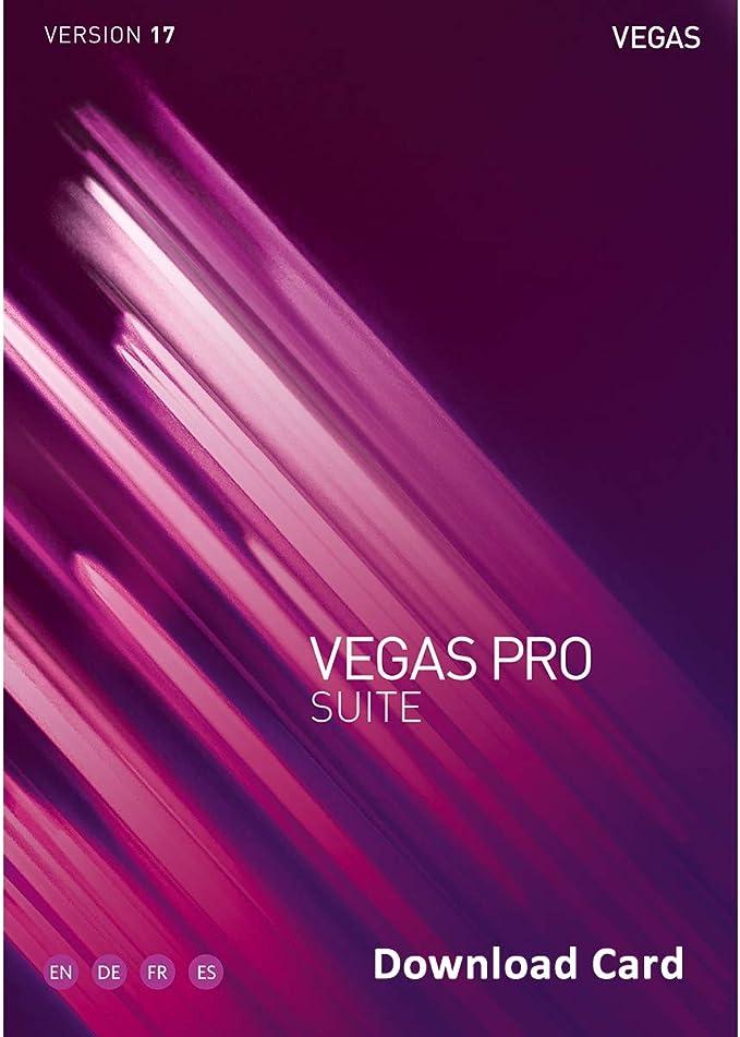 Download Card MAGIX Vegas Pro Suite 15 Student /& Teacher Edition