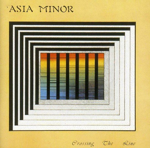 CD : Asia Minor - Crossing The Line (CD)