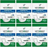 Veterinarian's Best Comfort-fit 12 Count Disposable Male Wrap, Small by Vet's Best (6 Pack)