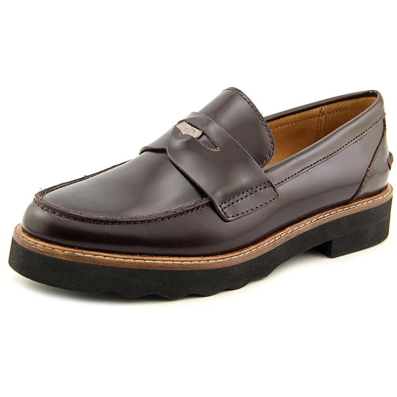 COACH Indie Box Calf Black Loafers