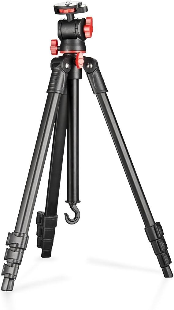 Walimex Basic - Trípode de Viaje (para cámaras réflex), Negro y Rojo: Amazon.es: Electrónica