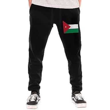 289b1757ee9ded Amazon.com  Men s Sweatpants Jordan Flag Athletic Jogger Sports Long Pants   Clothing