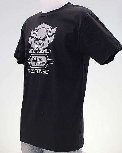 Tac Team 4. Camiseta negra, gris o verde militar chico: Amazon.es: Handmade